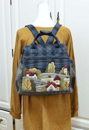 Borse patchwork bags quilted for Appendi borse fai da te