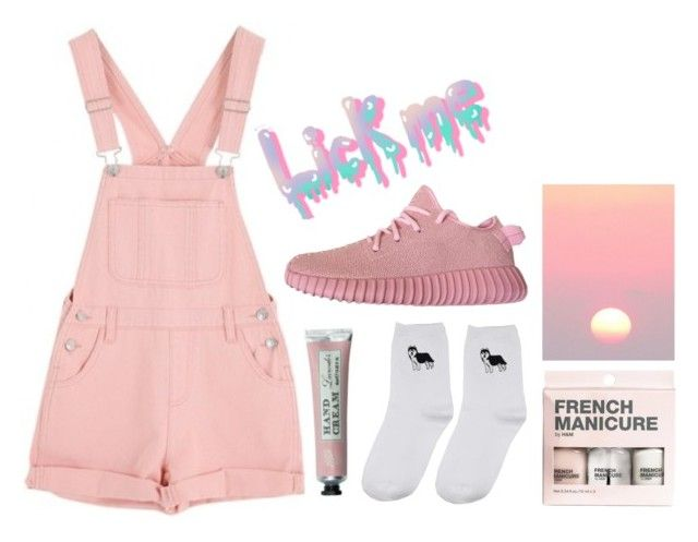 """""""Lick me by Boogzel Apparel"""" by boogzelapparel ❤ liked on Polyvore featuring H&M and Frapp"""