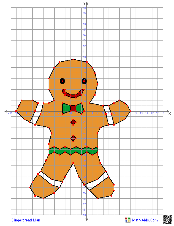 Printables Graphing Paper Using Math Points teaching in special education algebra coordinate plane practice gingerbread man awwwwww holiday graphing