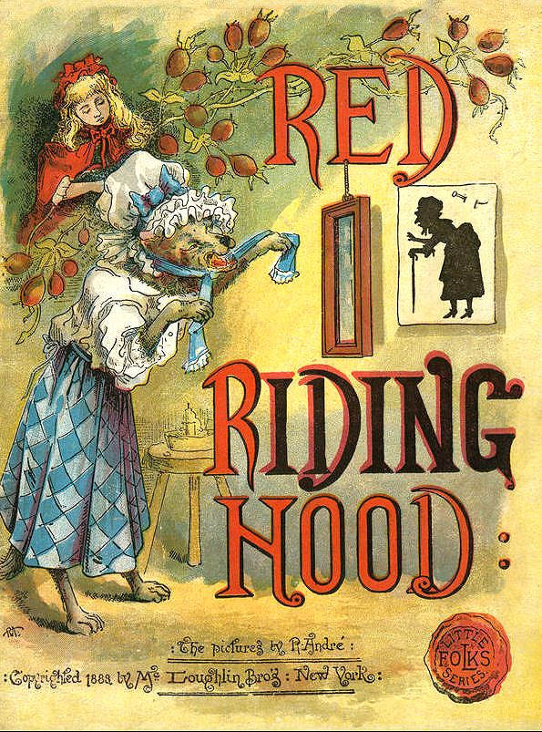 Vintage Little Red Riding Hood With Images Red Riding Hood