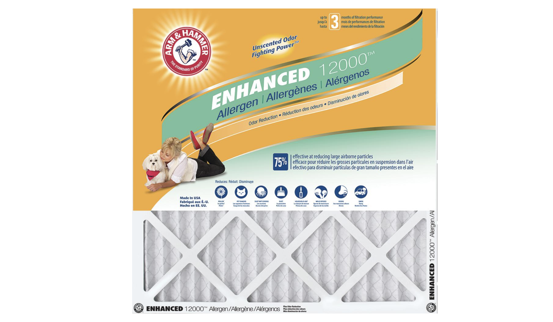 Air Filters by Arm & Hammer (4 pk) Now 19.99!! Today Only
