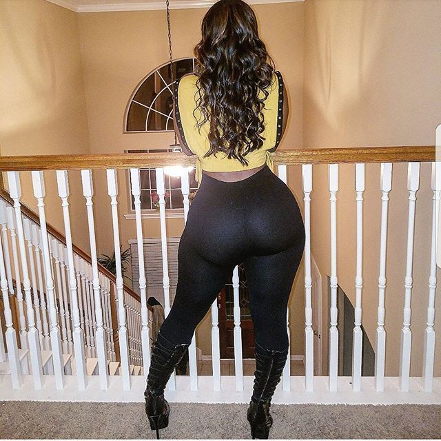 black ass Phat white