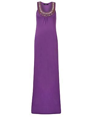Embellished Jersey Maxi Dress Women George At Asda My Style