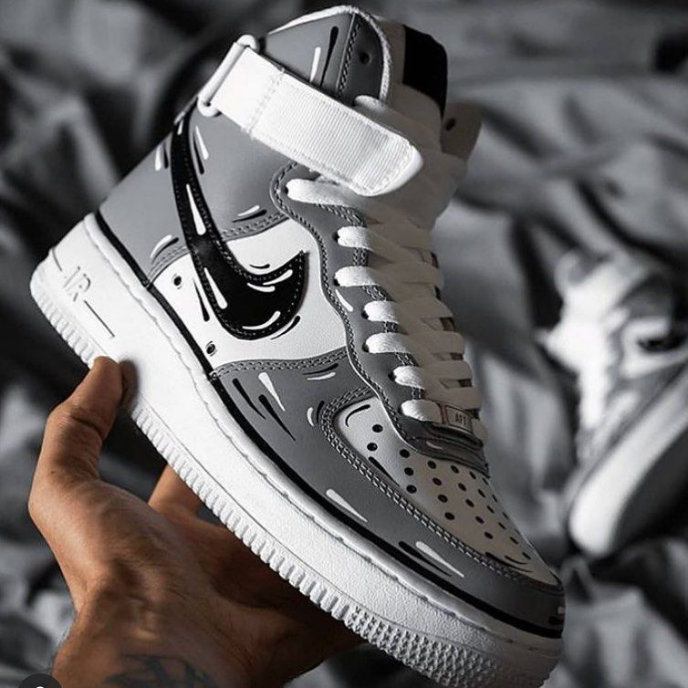 Customized Air Force 1s Rate these from