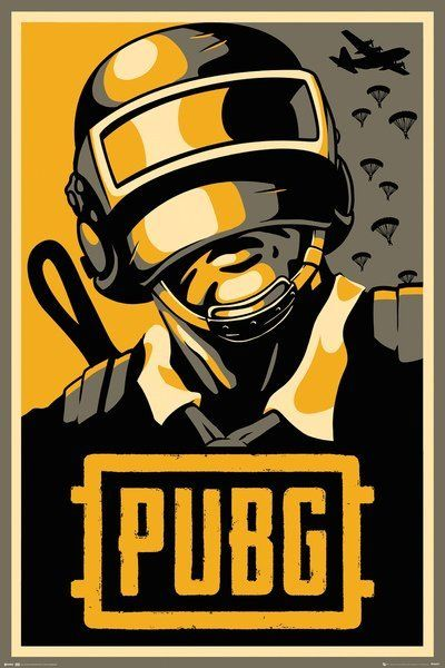 Pubg Maxi Poster Hope 865 Hope Poster Game Wallpaper Iphone Video Game Posters