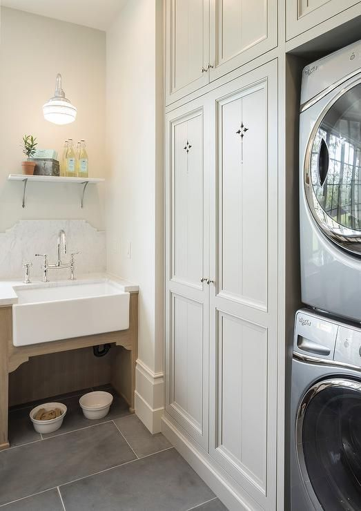 Laundry Room Apron Sink Grey Laundry Rooms Laundry Room