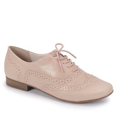 c7cc73ef4 Sapato Oxford Feminino Bottero - Bege Mais
