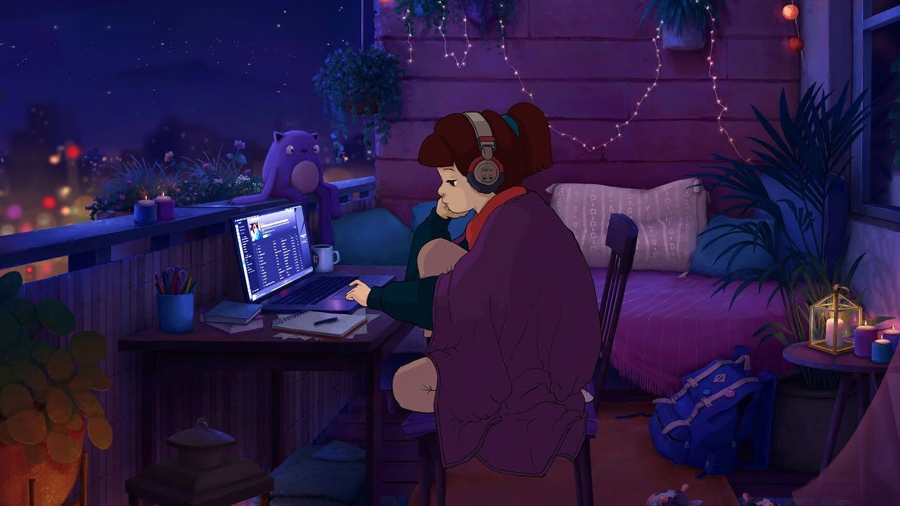 1 A M Study Session Lofi Hip Hop Chill Beats In 2020 Anime Scenery Wallpaper Anime Scenery Aesthetic Wallpapers