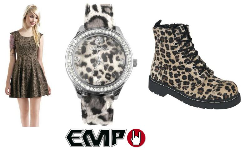 Leopard fashion vestido en emp europe s rock mailorder no 1 la m s grande venta Hard rock fashion style