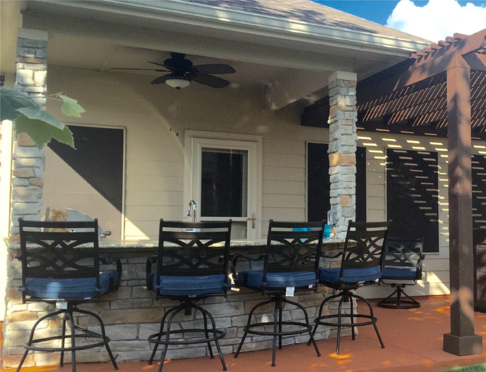 Created By Gebhardt Designs Austin San Antonio Area Outdoor Kitchen Design