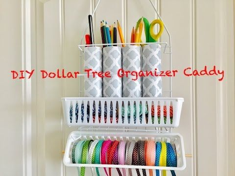 Dollar Tree Diy Door Organizer Can Hold Crafting Supplies