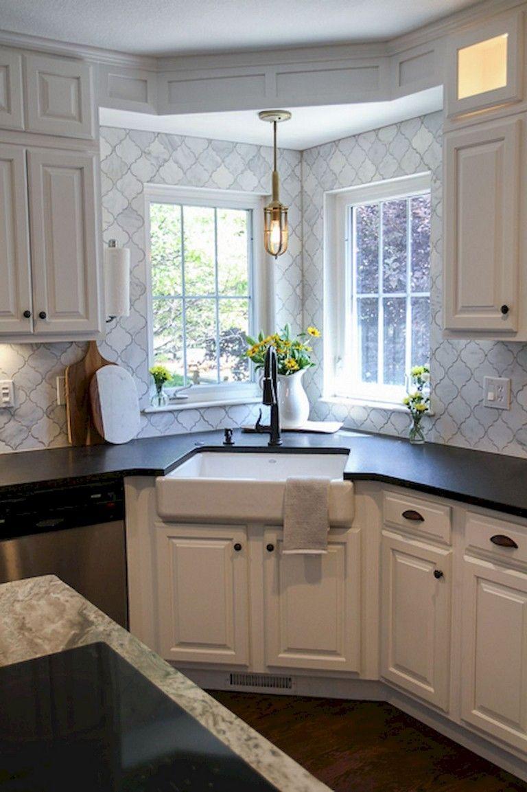 68 top modern farmhouse kitchen sink ideas small