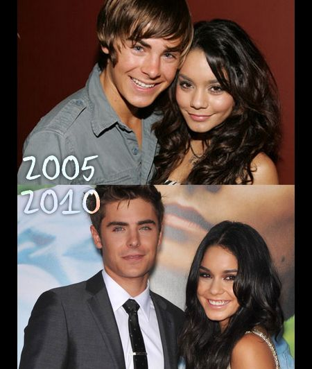 2005 To 2010 Zanessatroyella High School Musical High School