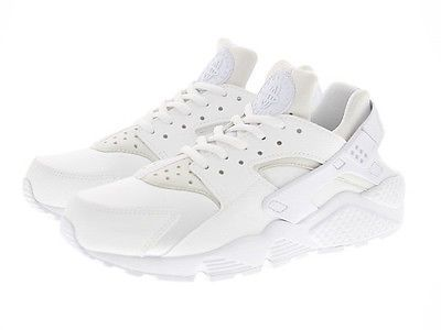 40eda8700e3 Nike Air Huarache Run Womens 634835-108 White Running Training Shoes Size 8