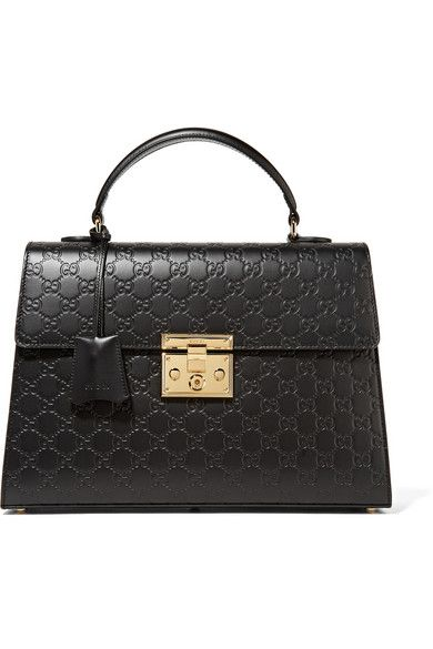 2dc3c4282617 GUCCI Padlock Embossed Leather Tote. #gucci #bags #shoulder bags #hand bags  #leather #tote #