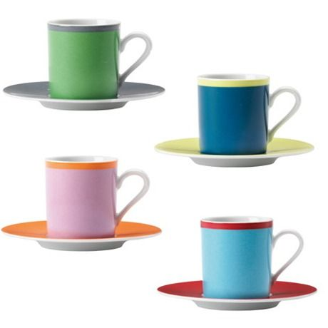 We <3 <3 <3 this bright, multi coloured LSA Ania Coffee Cup and ...