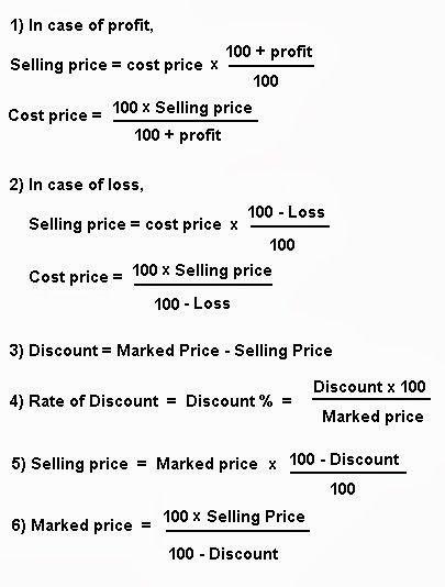 business mathematics math formulas online middle school. Black Bedroom Furniture Sets. Home Design Ideas