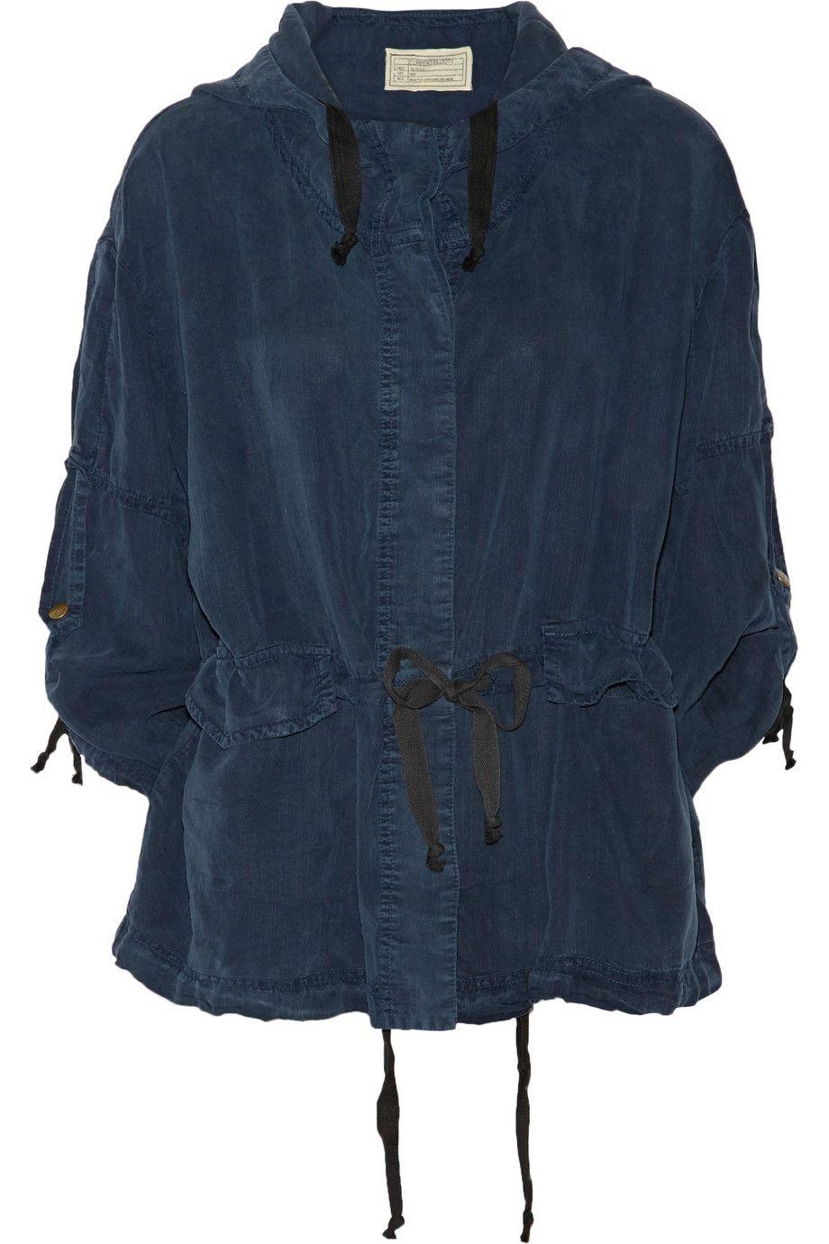 Current/ElliottThe Summer Parka hooded twill jacket