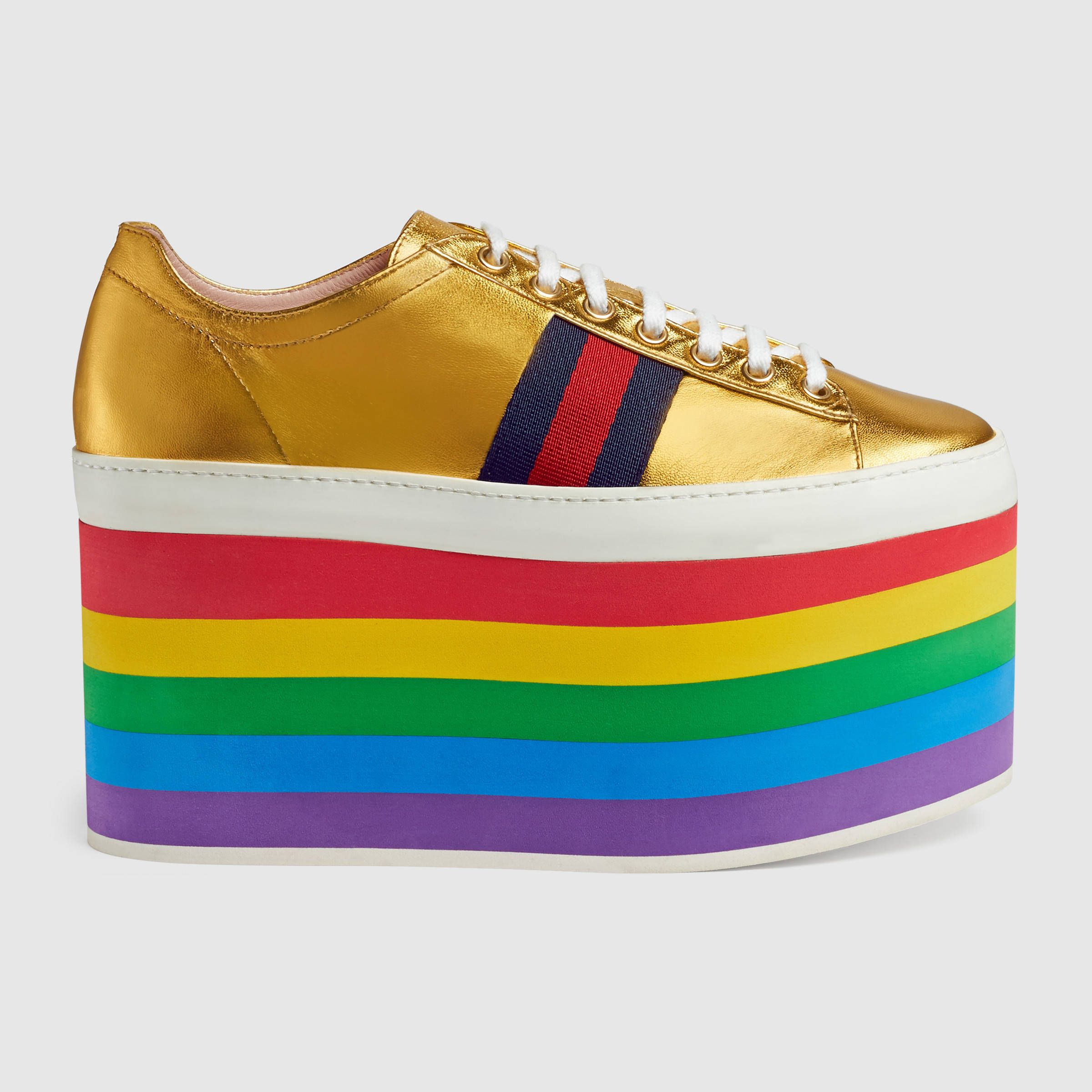 Right Arrow Rainbow Men's Running Shoes Fashion Sneaker