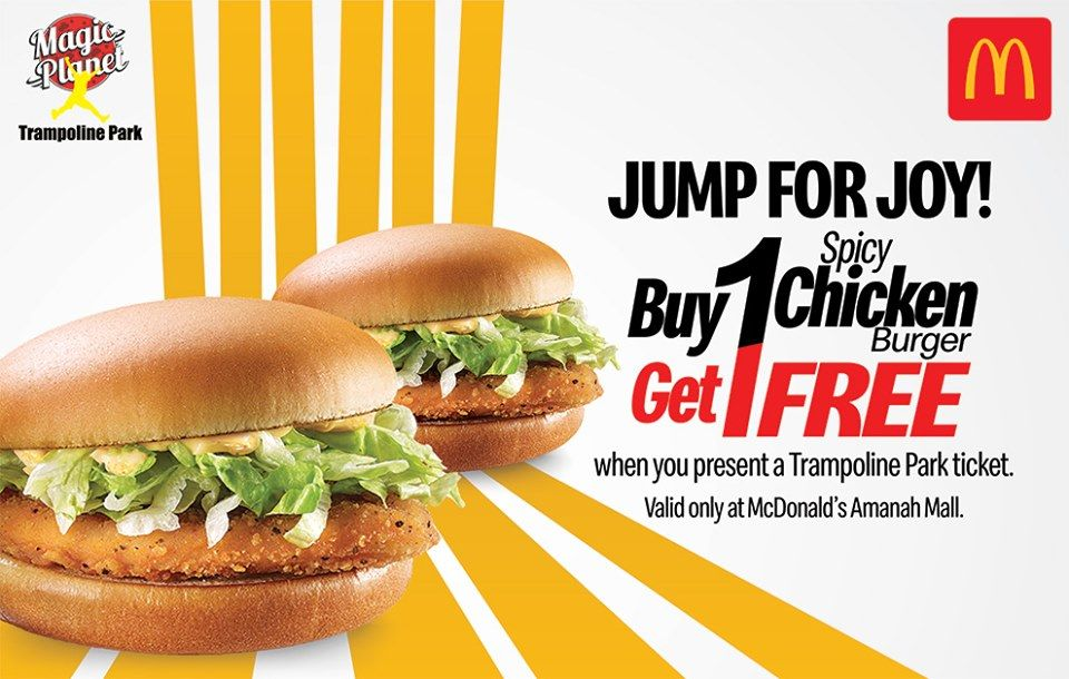 Jump For Joy Show A Trampoline Ticket Get Buy One Get One Free
