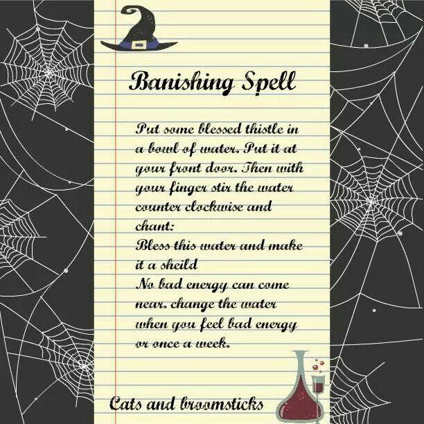 Banishing Spell, Easy Spells, Magick