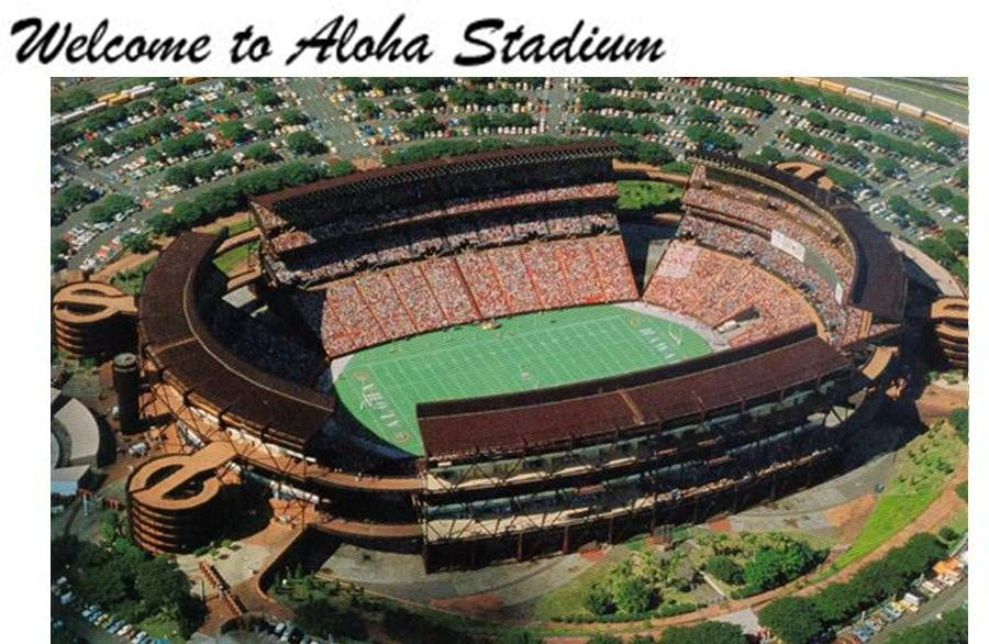 Aloha Stadium, Hawaii | Been there loved that | Hawaii, Oahu