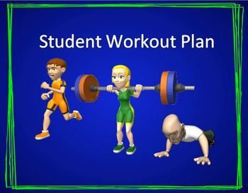 flexible student workout plan cardio strength and