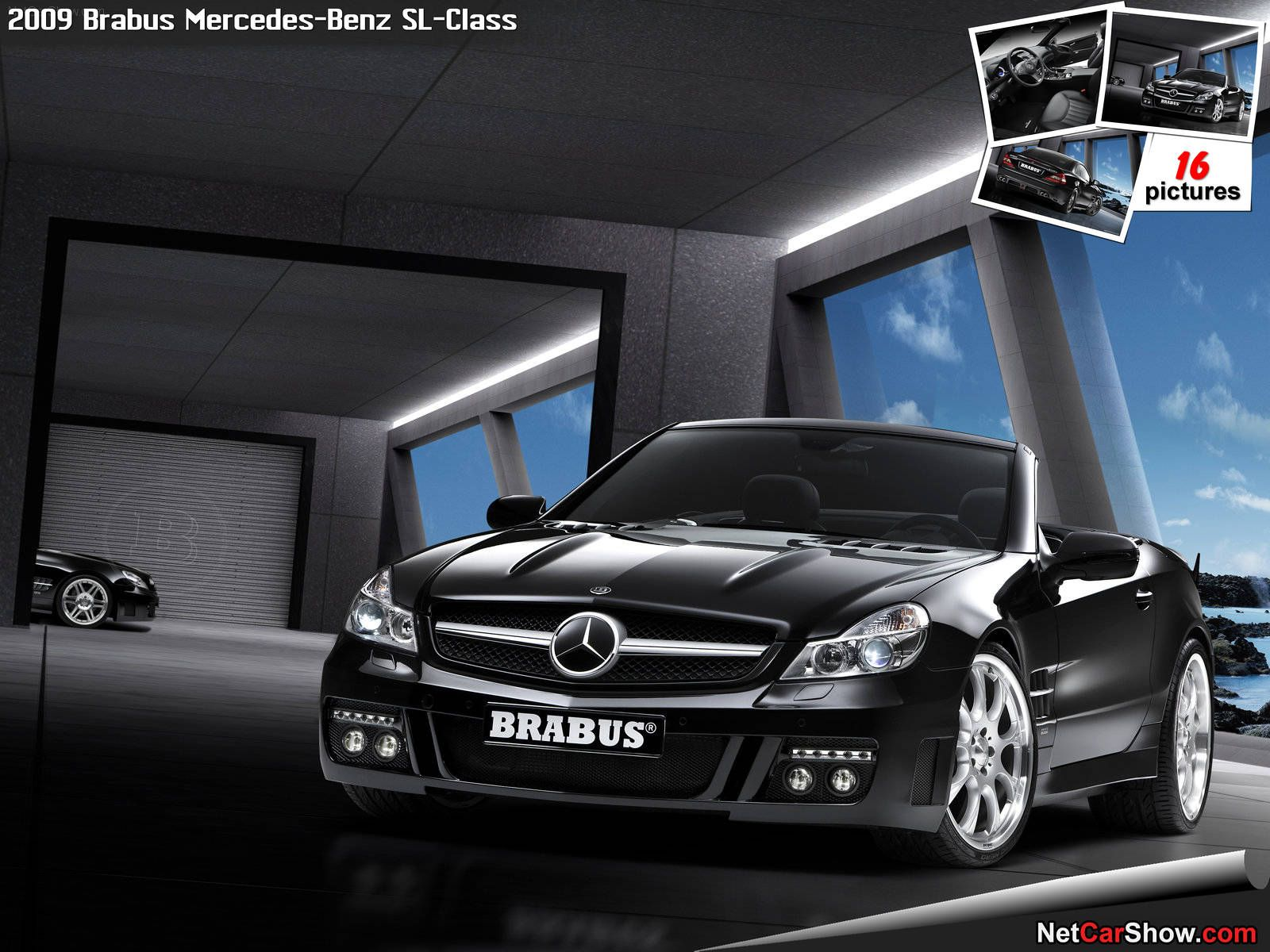 Brabus mercedes benz sl class 2009 follow link for more photos https