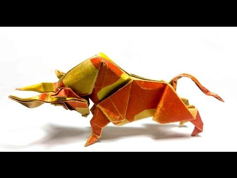 Photo of How to fold Origami Bull – Dong Viet Thien