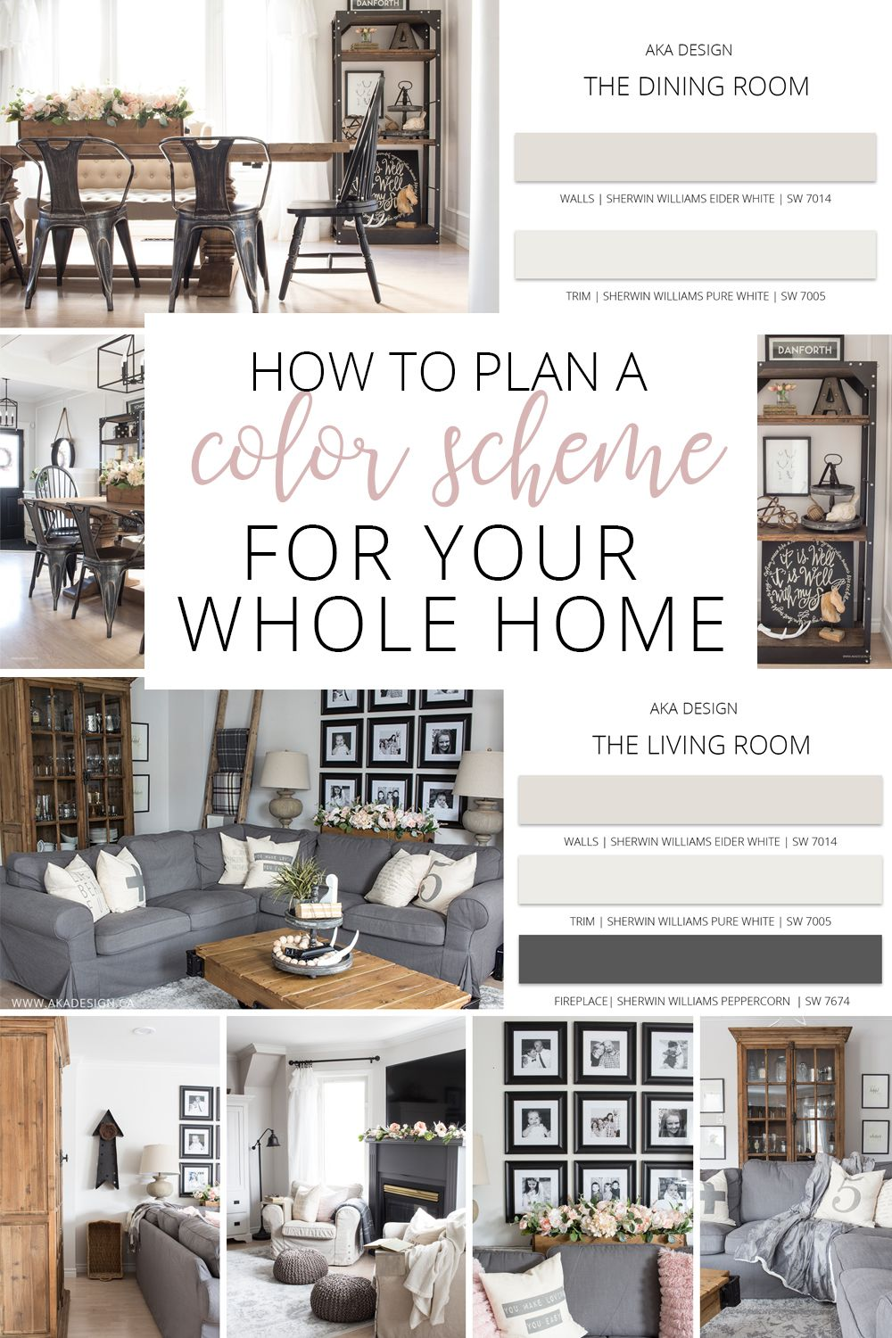 How to create a whole home color scheme love your home day