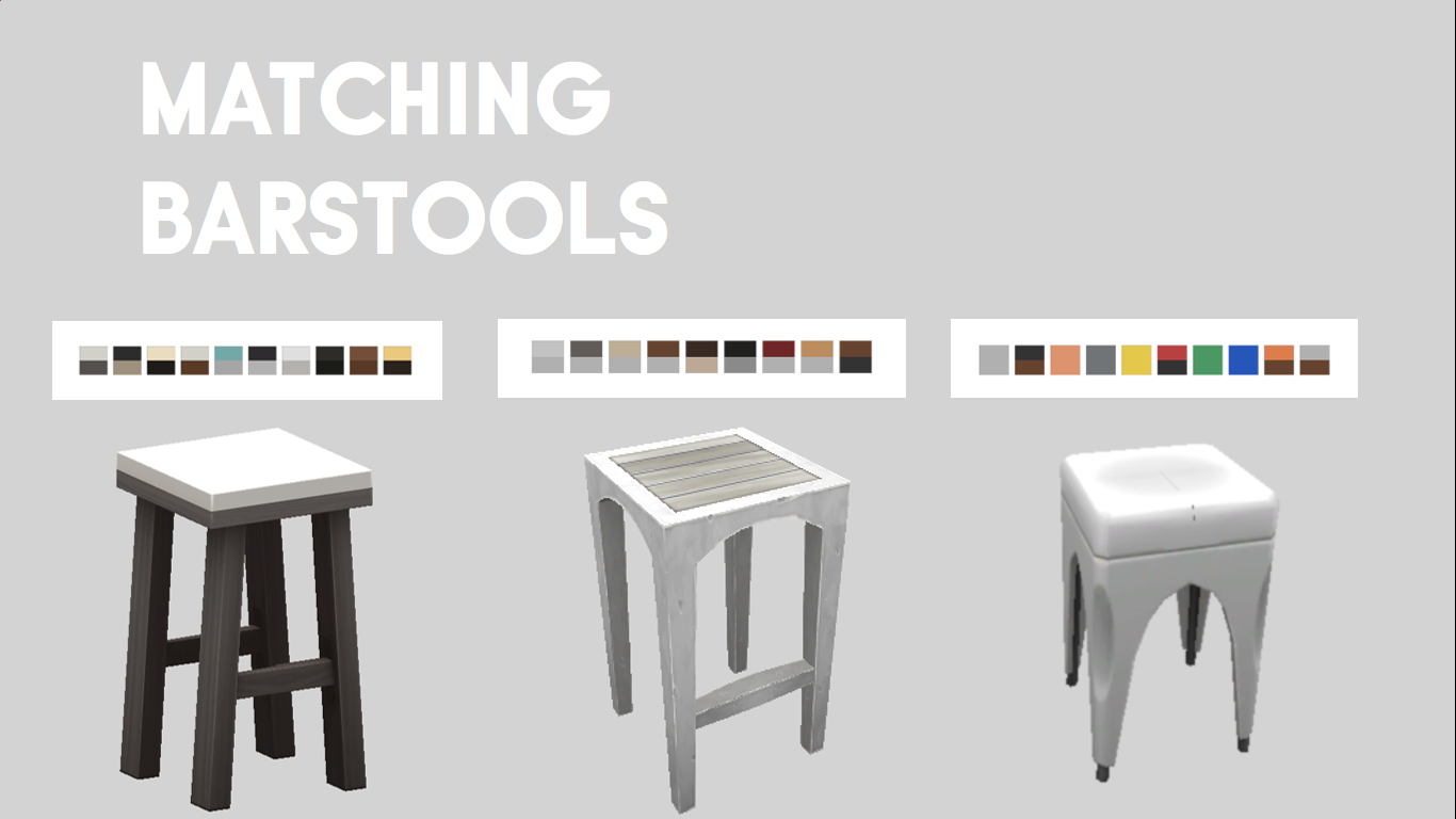 3 New Barstools That Match Maxis Tables And Chairs Come In A Variety Of Swatches Table ChairsDining