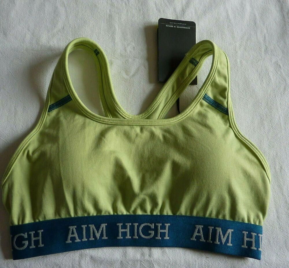 L neuf Brassière femme soutien gorge blanc fitness sport lingerie taille M