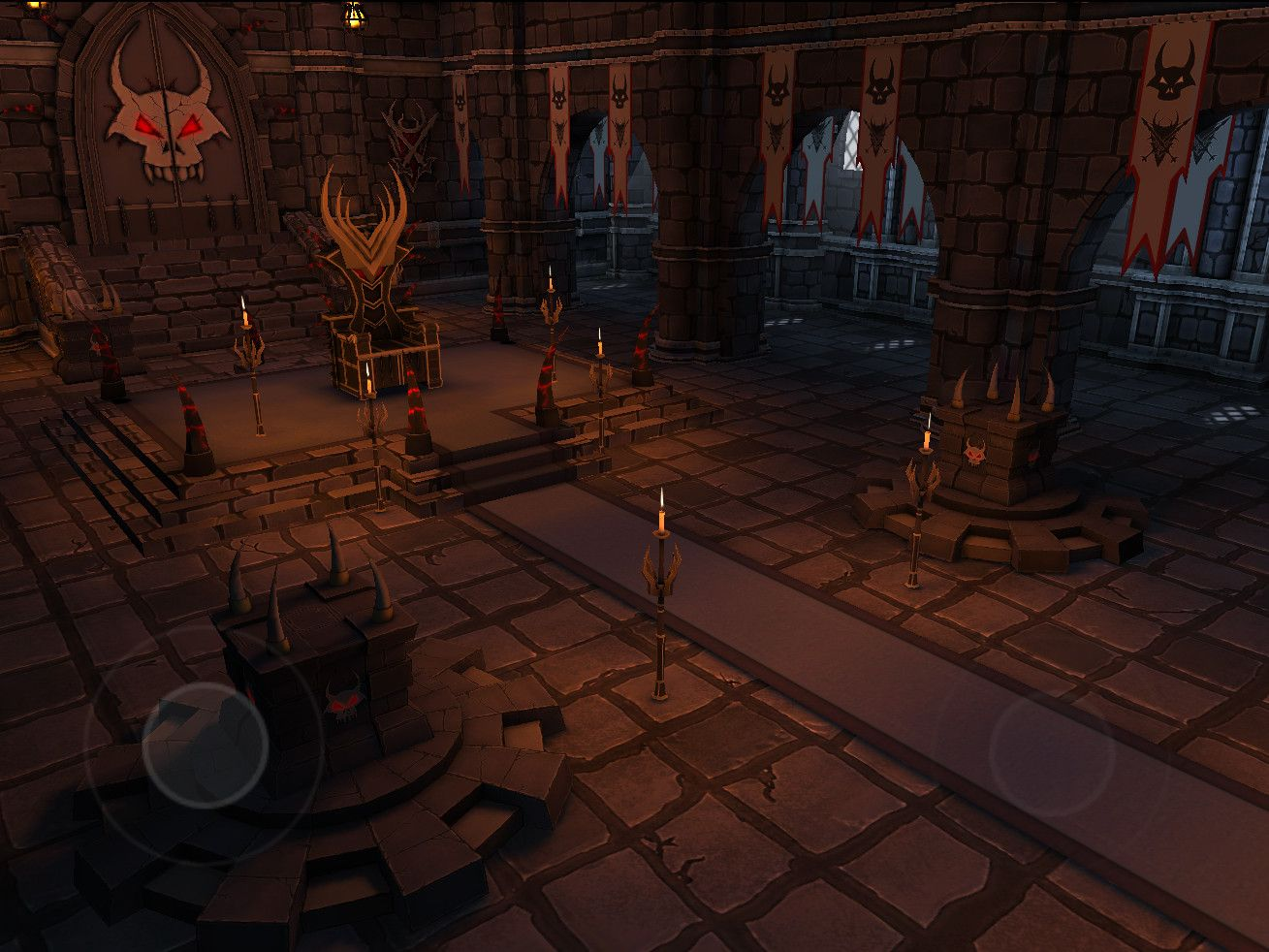 Udk Mobile Demon King S Throne Room Throne Room King On