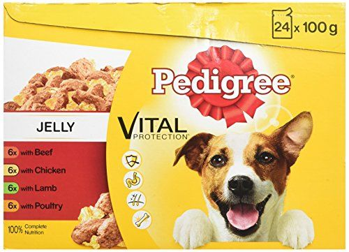 Pedigree Dog Pouches Favourites In Jelly 24 X 100 G Pack Of 2