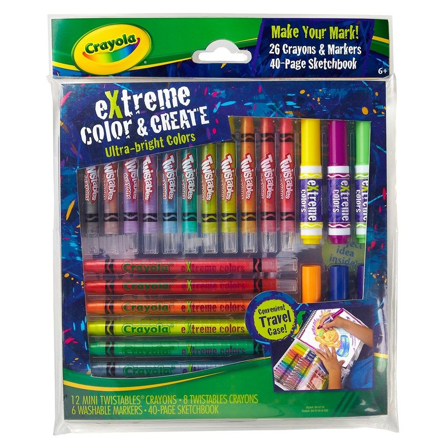 Crayola Extreme Colour n Create | clothes | Pinterest | Create and ...