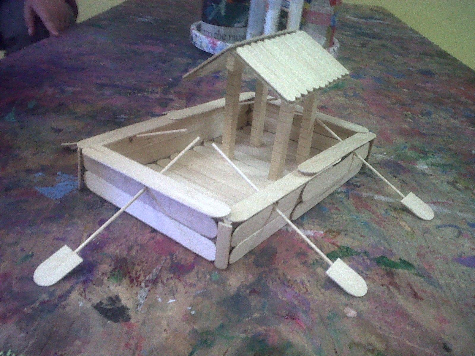 Long wooden craft sticks - Craft Sticks