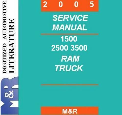 Pin On Dodge Ram Durango Dakota Nitro Service Manuals
