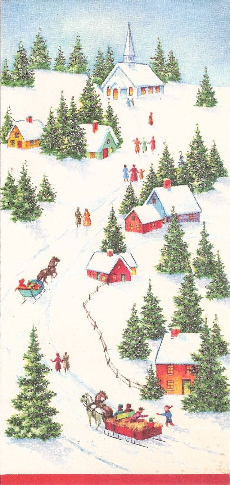 Vintage Christmas Card For More Please Visit Me At Facebook