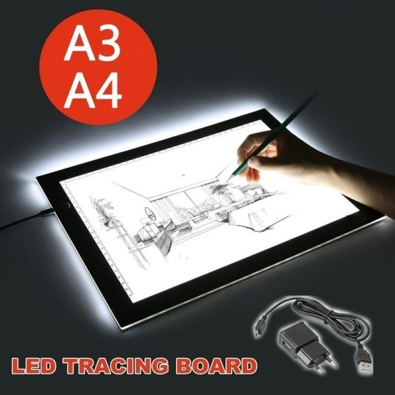 A3a4 led light box artist thin art stencil tracing