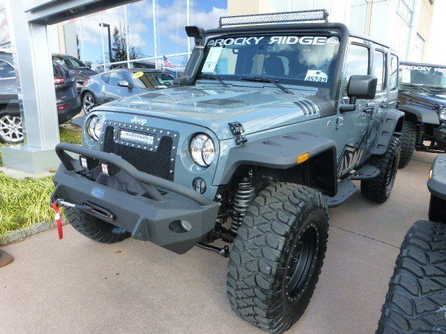 New 2015 Jeep Wrangler Unlimited Sport Rocky Ridge Pinnacle