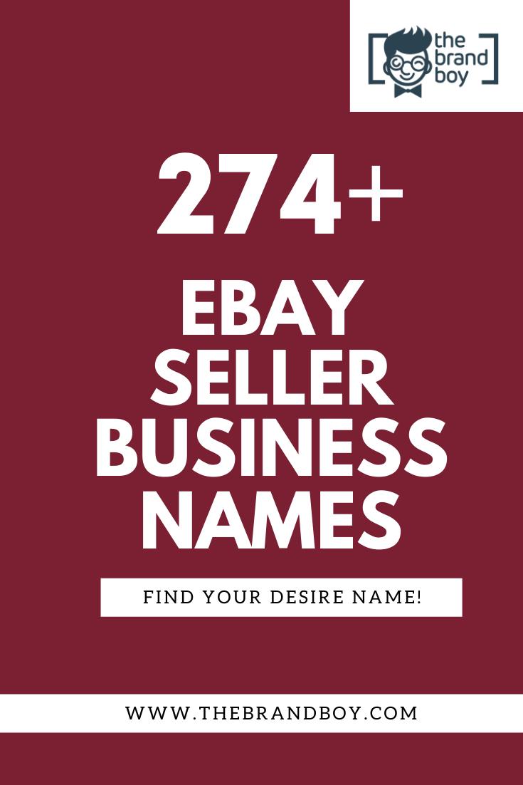 474 Best Ebay Seller Business Names Thebrandboy Com Business Names Ebay Seller Cool Names