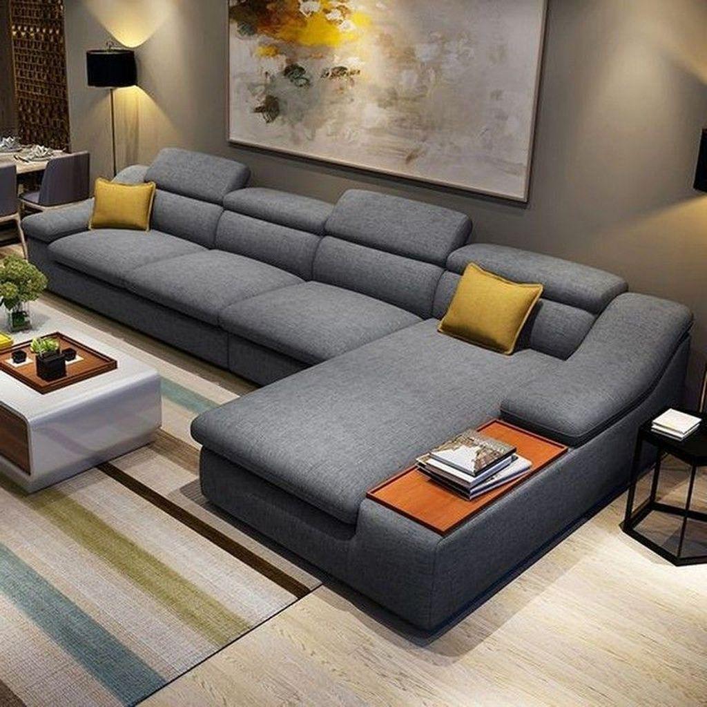 Awesome 50 Popular Sofa Living Room Furniture Design Ideas