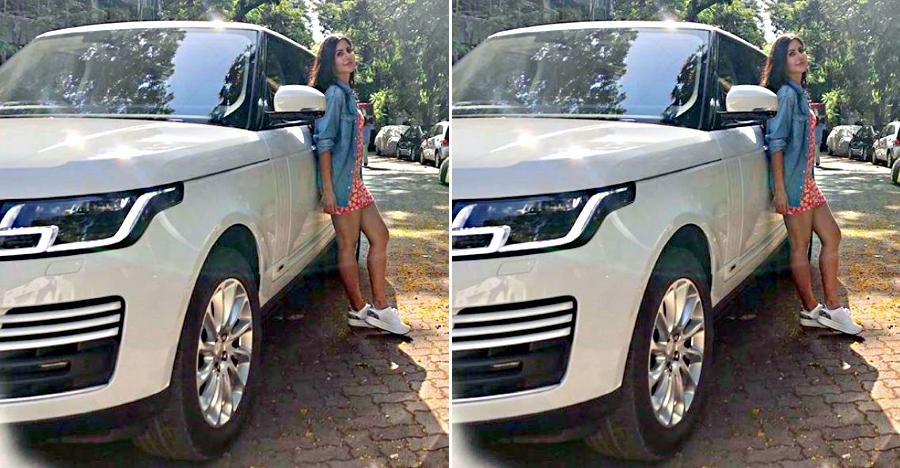 Katrina Kaif Has Released Her First Photo With The Latest Ride A Range Rover Luxury Suv Worth Rs 2 72 Crores Bol Best Luxury Sports Car Luxury Suv Safest Suv