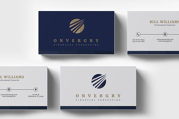 Financial Consulting Business Card Business Cards Creative Templates Minimal Business Card Business Card Template