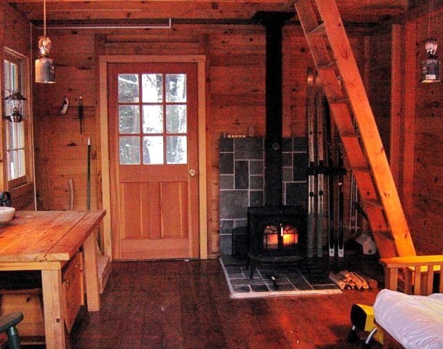 Inside A Small Log Cabins | Inside Of Small Cabins