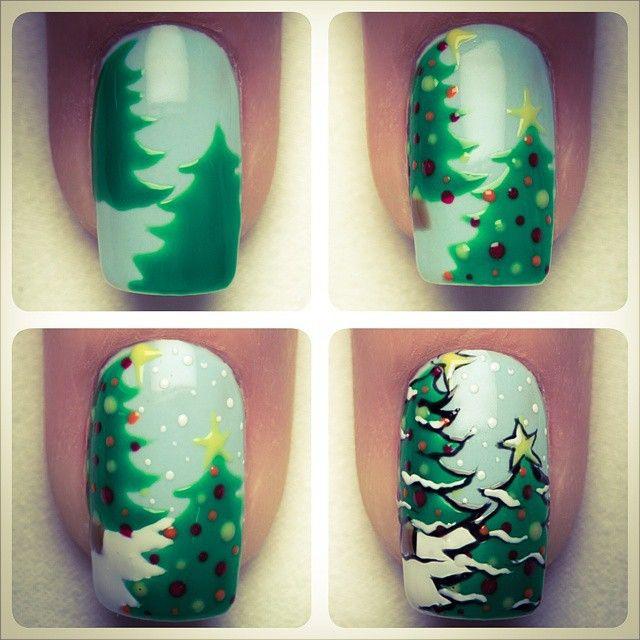Pin de Claudia Guisao en 2Navidad y uñas! | Pinterest | Diseños de ...