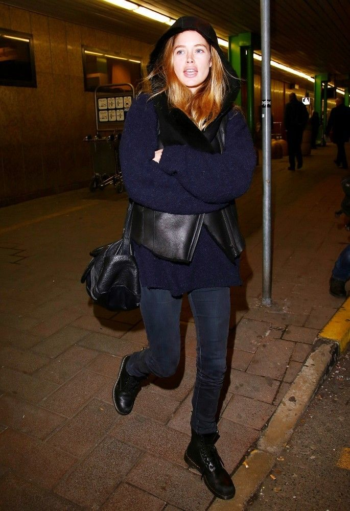 Doutzen Kroes Photos: Doutzen Kroes Arrives in Milan