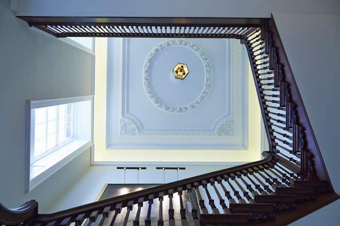 Best The Magnificent Staircase With Barley Twist Spindles Was 640 x 480