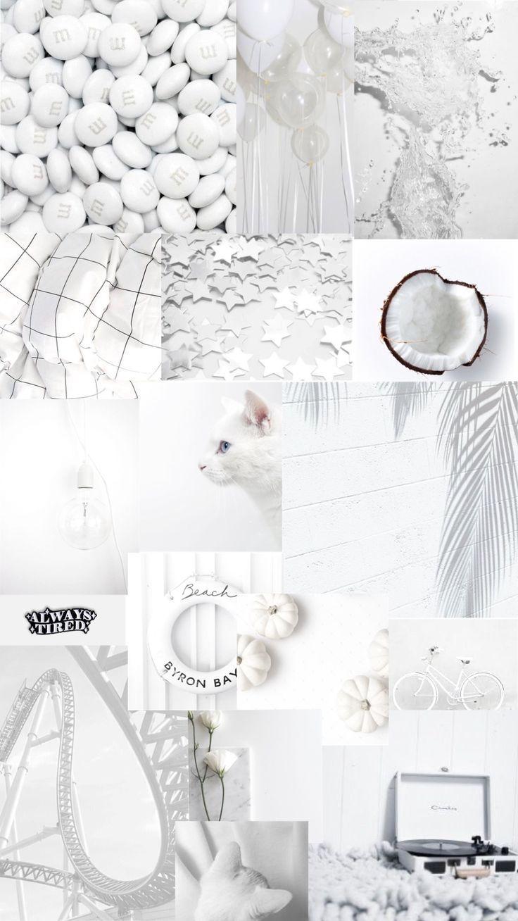 Tumblr Wallpapers White Aesthetic Background Wallpapers Phonewallpapers Iphonewallpapers Lockscreen Kertas Dinding Ruang Seni Wallpaper Ponsel