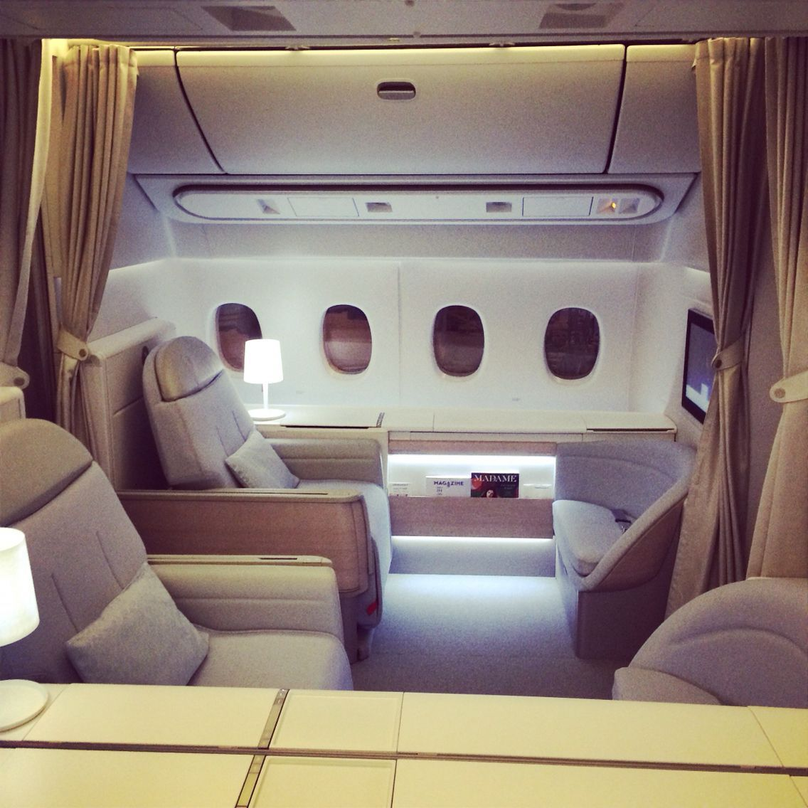New first class air france cabine aviationglamourstyle